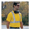 Occunomix LUX SSTP2 YXXL T-Shirt, 100% Polyester, Yellow, 2XL