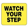 Glaro S18-Y-9 BARRIER POST SIGN WATCH YOUR STEP