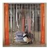 Aleco 455002 Vinyl Strip Door, Smooth, 8IN 4X8