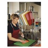 San Jamar CB152012RDGR Cutting Board, 20 x 15 x 1/2 In, Red