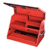 Montezuma SM200R SMALL TOOL BOX RED