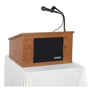Amplivox Sound Systems SW250 WALNUT W/LAPEL