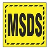 Accuform Signs PSP486 Wall Sign, Plastic, 8x12 In, MSDS