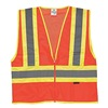 Ml Kishigo 1055/3X High Visibility Vest, Class 2, 3XL, Orange