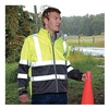 Tingley J25022 XL Breathable Rain Jacket, Hi-Vis Ylw/Grn, XL