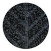 Andersen 22480703177070 Entrance Mat, Rubber, PET, Black, 17.7 x3 ft