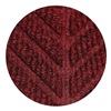 Andersen 22480773177070 Entrance Mat, Rubber, PET, Red, 17.7 x 3 ft