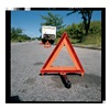 Approved Vendor 73-0711-00 Hwy Warning Triangle, Weighted, PK3