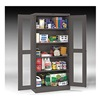 Tennsco CVD7224 MED GREY Storage Cabinet, 5 Shelves, 72x36, Med. Gry