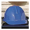 Sellstrom 69040 Hard Hat, Front Brim, Royal Blue