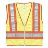 Ml Kishigo 1056/4X High Visibility Vest, Class 2, 4XL, Lime
