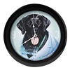 Quality Resource Group 8WT55 Wall Clock, Lab Dog