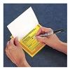 Accuform Signs MHZW20PSP Hazardous Waste Label, 6 In. W, PK 25