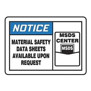 Accuform Signs MHCM803VA