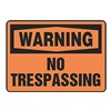 Accuform Signs MADM304VP Warning Sign, 10 x 14In, BK/ORN, PLSTC, ENG