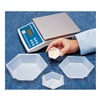 Eagle Thermoplastic HWB-300 Weighing Dish, 3/4 In. D, PK 500