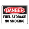Accuform Signs MCHL195VP Danger No Smoking Sign, 10 x 14In, PLSTC