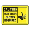 Accuform Signs LPPE621VSP Safety Label, Instruction, 3-1/2 In. H, PK5