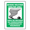 Accuform Signs SBPSP392 Notice Sign, 12 x 9In, BK and GRN/WHT, INFO