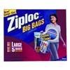 S C Johnson Wax 65676 5PK Ziploc HD Big Bag