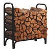 Panacea Products Corp 15203 4' BLK STL DLX Log Rack