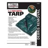 Jms Industries MT 9 X 9 GREEN MT9x9GRN Leaf Haul Tarp, Pack of 10