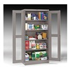 Tennsco CVD7224 LIGHT GREY Storage Cabinet, 5 Shelves, 72x36