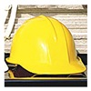 Sellstrom 69010 Hard Hat, Front Brim, Yellow