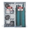 Folding Guard SAF-T-COMBO Gas Cylinder Cabinet