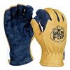 Shelby 5280G L Firefighters Gloves, L, Pigskin Lthr, PR
