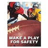 Accuform Signs PST120 Safety Record Signs, 24 x 18In, ENG