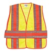 Ml Kishigo 1166/2X-4X Hi Vis Vest, Class 2, 2XL to 4XL, Lime