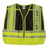 Ml Kishigo 8054B/M-XL Pro Police Safety Vest, Brown, M/XL