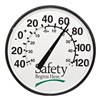 Sales & Marketing Associates 520WB-A Weather Thermometer, Safety Begins Here