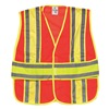 Ml Kishigo 1167/2X-4X Hi Vis Vest, Class 2, 2XL to 4XL, Orange