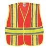 Ml Kishigo 1167/2X-4X Hi Vis Vest, Class 2, 2XL to 4XL, Orange