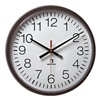 American E56BADD314 WALL CLOCK CONTEMPORARY BATTERY 2 1/4X