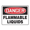 Accuform Signs MCHG102VA Danger Sign, 10 x 14In, R and BK/WHT, AL