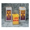 Lab Safety Supply 9PVE9 Radioactive Waste Bag, 38 In. L, PK 100