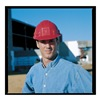 Jackson Safety 14417 Hard Hat, FrtBrim, Slotted, 6PinLk, Red