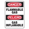 Accuform Signs SBMCHG049VP Danger Sign, 14 x 10In, R and BK/WHT, PLSTC