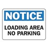 Accuform Signs MVHR826VP Notice Sign, 10 x 14In, BL and BK/WHT, Text