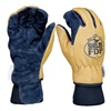 Shelby 5280 S Firefighters Gloves, S, Pigskin Lthr, PR