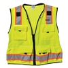 Brw Safety & Supply S5000/5X High Visibility Vest, Class 2, 5XL, Lime