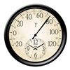 "Taylor Precision Products 91575 14"" Thermometer/Clock"