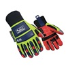 Ringers Gloves 248-10 Anti-Vibration Gloves, Cotton Palm, L, PR