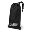 Uvex By Honeywell S487 Eyewear Bag, Bk, Nyl, Lock Stop
