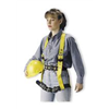 Miller By Sperian 8714-9/MYK Full Body Harness, M, Yellow/Black