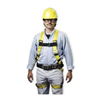 Miller By Honeywell 8095/LYK Full Body Harness, L, 310 lb., Black/Yellow