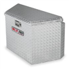 Delta Pro 415000D Trailer Tongue Box.33 In, Alum, Silver